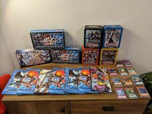 Yugioh Cards Tins & Battle Mat Joblot Bundle Over 200 Cards