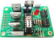 Nano-18 BASIC Microcontroller MOSFET Driver Board, B0139, Stepper DC Motor Robot
