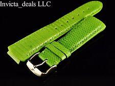 Authentic TechnoMarine 1036 Genuine Lizard Leather Lime Green Strap W/ Buckle
