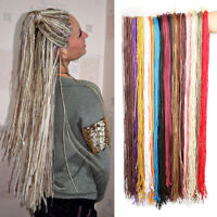 "28"" Micro Twist Braids Thin Senegalese Crochet Zizi Box Braids Hair Extensions"