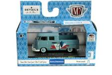 M2 Machines AUTO-THENTICS 1959 VW Double Cab Truck USA Model WMTS11 18-26