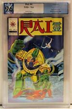Rai #4 9.6 PGX NM+ Valiant Comics not cgc
