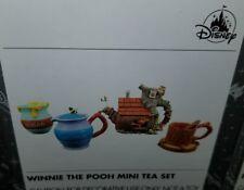 NEW Disney Parks WINNIE THE POOH Mini Tea Set! Teapot Teacup Owl Tree House