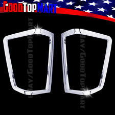 For Nissan TITAN 2004-2010 2011 2012 2013 2014 Chrome Tail Light Covers Outline