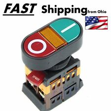 Industrial Motor Control Start Stop Jog Push Button Momentary Switch HD