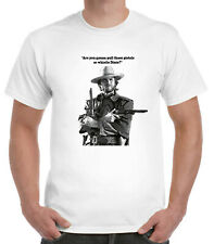 Clint Eastwood T-Shirt Cowboy Western Spaghetti Josey Wales quote whistle