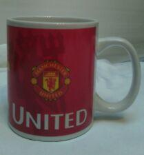 Manchester United F.C. Football Club Soccer Team Red Adult Drinking Cup/Mug VGC