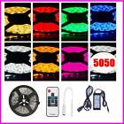 5-15M 5050 SMD RGB/Warm/Cool White LED Strip Light Lamps Cool Changing+6A Power