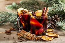 Classic Winter Warmer Spice Blend Kit New Year Hot Toddy Mulled Wine 2 x Bags
