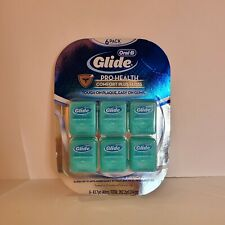 6 PACK Oral B Glide Pro-Health Comfort Plus Floss Mint - 262.2 YD Total