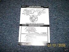 1973 1974 PLYMOUTH FURY TRUNK JACK INSTR DECAL