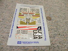 Microscale  decals 1/48 48-272 F-4 Phantom Ohio Michigan Texas ANG    SSS