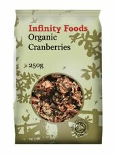 Dried Cranberries, Organic, 250g (Infinity Foods)