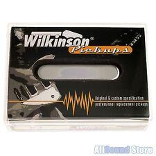 Wilkinson WT-N Alnico Neck Pickup for Telecaster Tele, 4.66K NICKEL - JAPAN MIJ