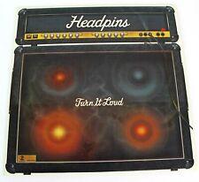 HeadpinsTurn It Loud LP Vinyl 1982 Solid Gold Records SGR 1010
