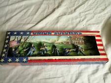 Nordistes Union Soldiers ancienne boite avec 6 figurines plastiques en bel état,
