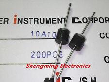 50PCS 10A10 1000V 10A 1000V Rectifier Diode