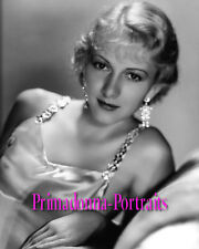 KAREN MORLEY 8X10 Lab Photo 1930s Sexy Shimmering Gown, Glistening Gal Portrait