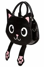 Banned Apparel Bag of Tricks Kitty Cat Paws Detachable Strap Handbag