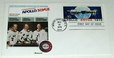APOLLO SOYUZ 1975 FIRST DAY COVER DONALD SLAYTON * VANCE BRAND * THOMAS STAFFORD