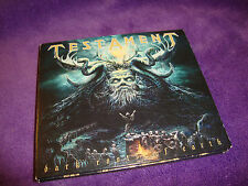 TESTAMENT cd/dvd deluxe edition DARK ROOTS OF EARTH free US shipping