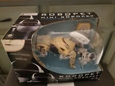 WowWee Interactive ROBOPET Robot & Mini ROBOPET Pet Dogs BRAND NEW - White