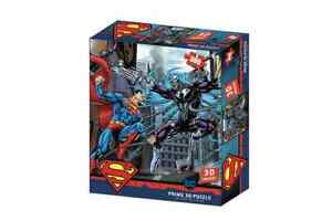 Superman vs Electro Jigsaw 3D Puzzle DC Comics 24 Inch by 18 Inch 300 Piece