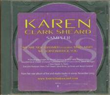 Karen Clark Sheard: Sampler PROMO Music CD We Are Not Ashamed Mary 2trk w/ Art!