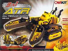 OWIKIT-536 All Terrain 3-in-1 RC Robot Kit  ATR Transforming wired control New