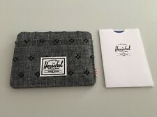 New Mens Herschel Supply Charlie Wallet Card Holder Street Skater Surfer Daily