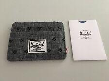 New Herschel Supply Charlie Wallet Card Holder Street Skater Surfer Daily Men's