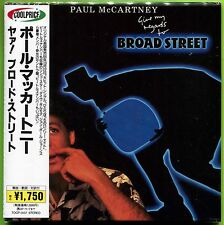 Paul McCartney GIVE MY REGARDS TO BROAD STREET 17-track Japan mini LP CD w/OBI