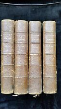 Voltaire - Oeuvres choisies 1887 4 tomes Grand papier