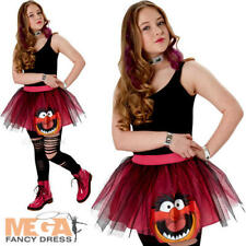 Muppets Animal Tutu Set Ladies Fancy Dress Disney Adults Teens Costume Accessory