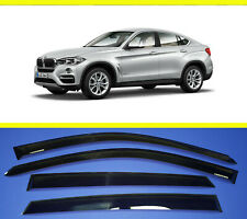BMW X6 F16  2014-  Deflector Smooke tint Window visor Shade Vent