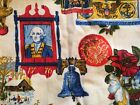 Vintage+4th+of+July+Early+Americana+Liberty+Bell+Eagle+Presidential+Curtains+