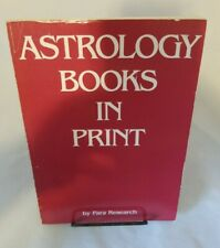 Astrology Books in Print by Para Research, Inc. 1981 Paperback Bibliography
