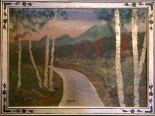 Antique oil Painting. Circa 1934 By John M. Johnston.