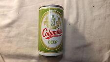Vintage Columbia Beer Can Steel ag