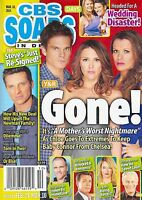CBS Soaps In Depth Magazine March 10 2014 Elizabeth Hendrickson Steve Burton