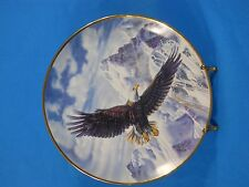 """Franklin Mint """"On Freedom's Wing"""" Collector Plate by Ronald Van Ruyckevelt"""