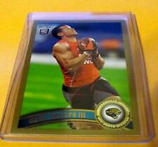 2011 Topps Football Gold Rc - Cecil Shorts Iii #385 - Jaguars /2011