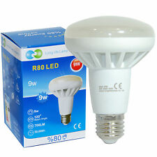 R80 LED 9W E27 Replacment for Reflector R80 Light Bulb warm white 700 Lumens