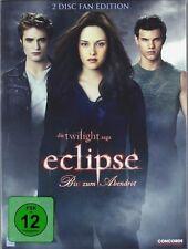 TWILIGHT: ECLIPSE - Bis(s) zum Abendrot  (2 DVDs) Robert Pattinson OVP