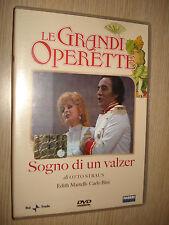 DVD LE GRANDI OPERETTE SOGNO DI UN VALZER CON EDITH MARTELLI CARLO BINI