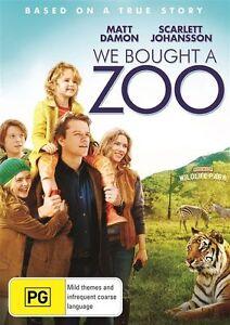 We bought a Zoo Matt Damon DVD R4 BRAND NEW/SEALED