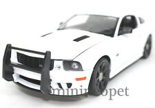 WELLY 12569WEBP-WWE 2007 SALEEN MUSTANG S281E 1/18 UNMARKED POLICE CAR W