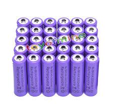 30x AA 3000 mAh de la batería recargable Ni-MH 2A púrpura para MP3/RC/Cámara