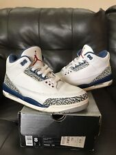 AIR JORDAN 3 RETRO TRUE BLUE 2001 SIZE 8