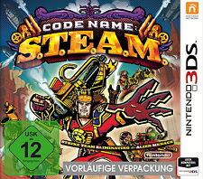 Nombre de código: s.t.e.a.m. (Nintendo 3ds, 2015) original, embalado-productos nuevos